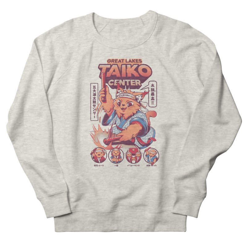 Great Lakes Taiko Center Women's French Terry Sweatshirt by Great Lakes Taiko Center's Merch Shop