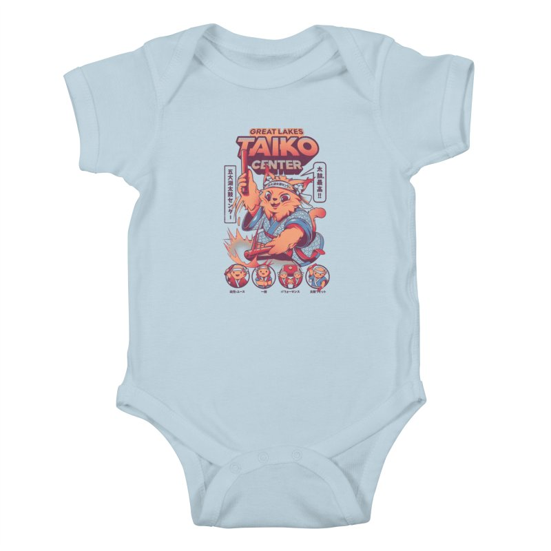 Great Lakes Taiko Center Kids Baby Bodysuit by Great Lakes Taiko Center's Merch Shop