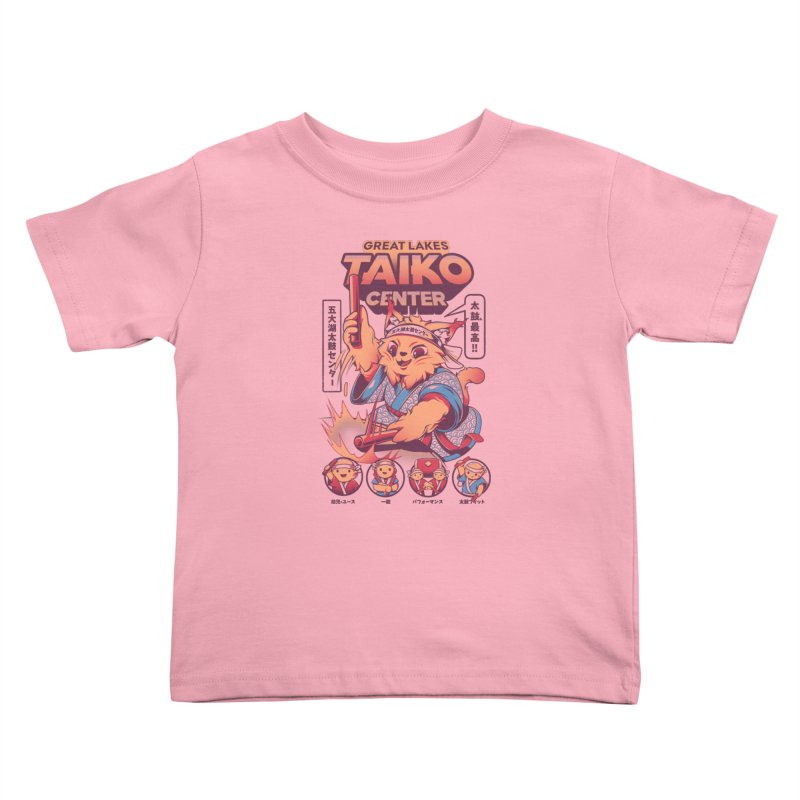 Great Lakes Taiko Center Kids Toddler T-Shirt by Great Lakes Taiko Center's Merch Shop