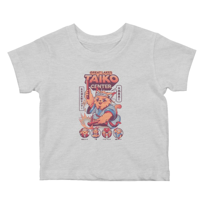Great Lakes Taiko Center Kids Baby T-Shirt by Great Lakes Taiko Center's Merch Shop