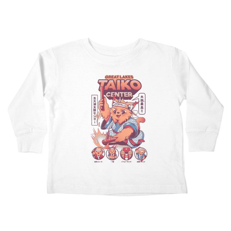 Great Lakes Taiko Center Kids Toddler Longsleeve T-Shirt by Great Lakes Taiko Center's Merch Shop