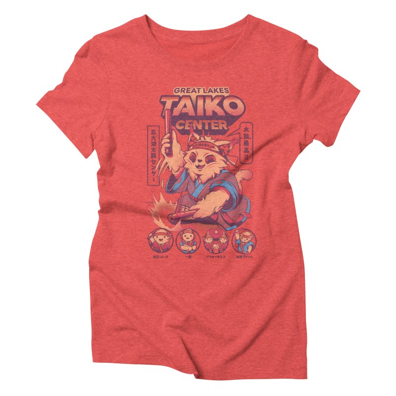 Great Lakes Taiko Center Women's Triblend T-Shirt by Great Lakes Taiko Center's Merch Shop