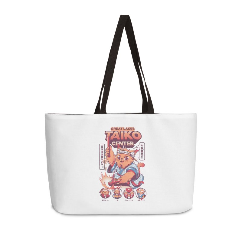 Great Lakes Taiko Center Accessories Weekender Bag Bag by Great Lakes Taiko Center's Merch Shop