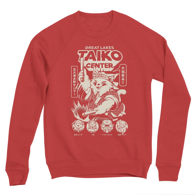 Great Lakes Taiko Centre Men's Sponge Fleece Sweatshirt by Great Lakes Taiko Center's Merch Shop