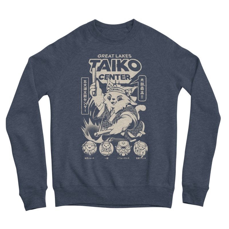 Great Lakes Taiko Centre Men's Sponge Fleece Sweatshirt by Great Lakes Taiko Center's Merch Shop