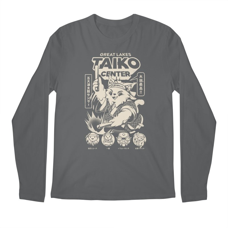 Great Lakes Taiko Centre Men's Regular Longsleeve T-Shirt by Great Lakes Taiko Center's Merch Shop