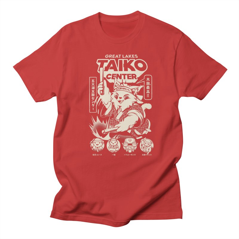 Great Lakes Taiko Centre Men's Regular T-Shirt by Great Lakes Taiko Center's Merch Shop