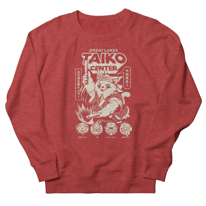 Great Lakes Taiko Centre Women's French Terry Sweatshirt by Great Lakes Taiko Center's Merch Shop