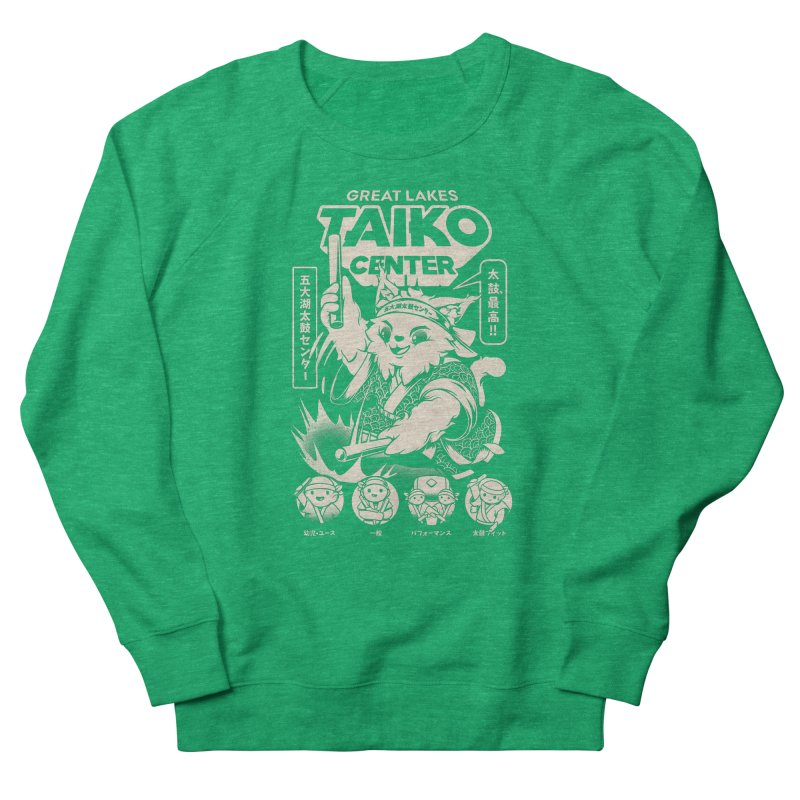 Great Lakes Taiko Centre Men's French Terry Sweatshirt by Great Lakes Taiko Center's Merch Shop