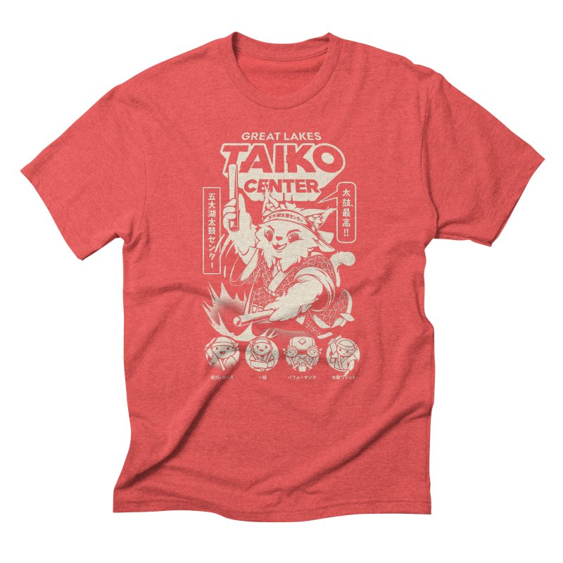 Great Lakes Taiko Centre Men's Triblend T-Shirt by Great Lakes Taiko Center's Merch Shop