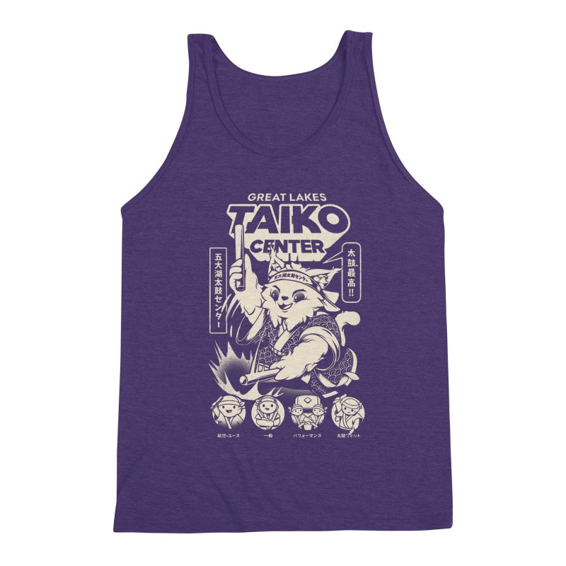 Great Lakes Taiko Centre Men's Triblend Tank by Great Lakes Taiko Center's Merch Shop