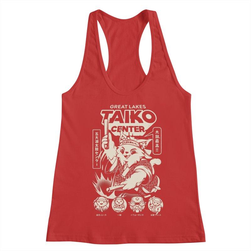 Great Lakes Taiko Centre Women's Racerback Tank by Great Lakes Taiko Center's Merch Shop