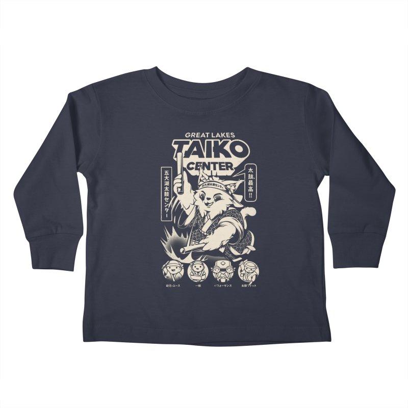 Great Lakes Taiko Centre Kids Toddler Longsleeve T-Shirt by Great Lakes Taiko Center's Merch Shop