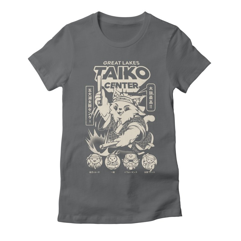 Great Lakes Taiko Centre Women's Fitted T-Shirt by Great Lakes Taiko Center's Merch Shop
