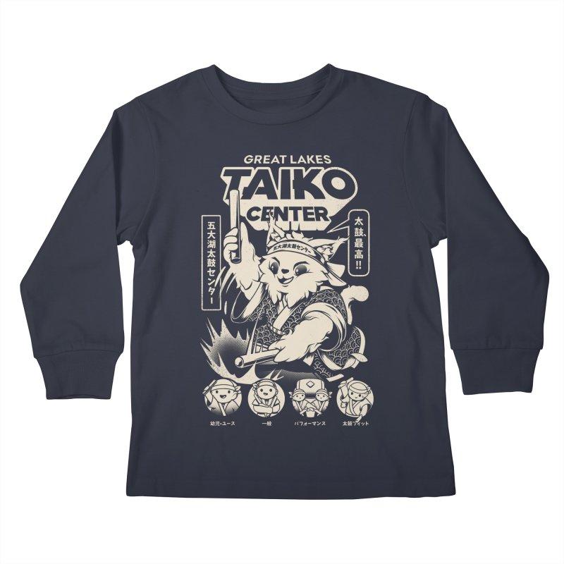 Great Lakes Taiko Centre Kids Longsleeve T-Shirt by Great Lakes Taiko Center's Merch Shop