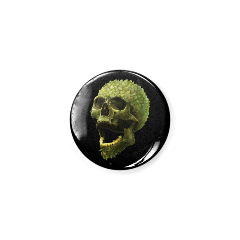 Hops Skull in Button by Great Raven Design Co's Artist Shop