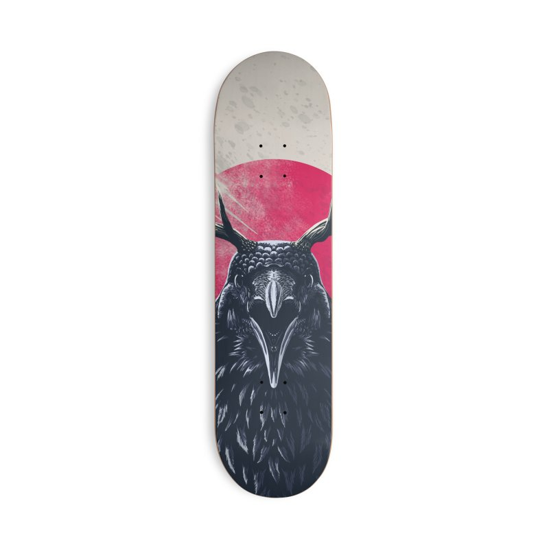 Great Raven in Deck Only Skateboard by Great Raven Design Co's Artist Shop