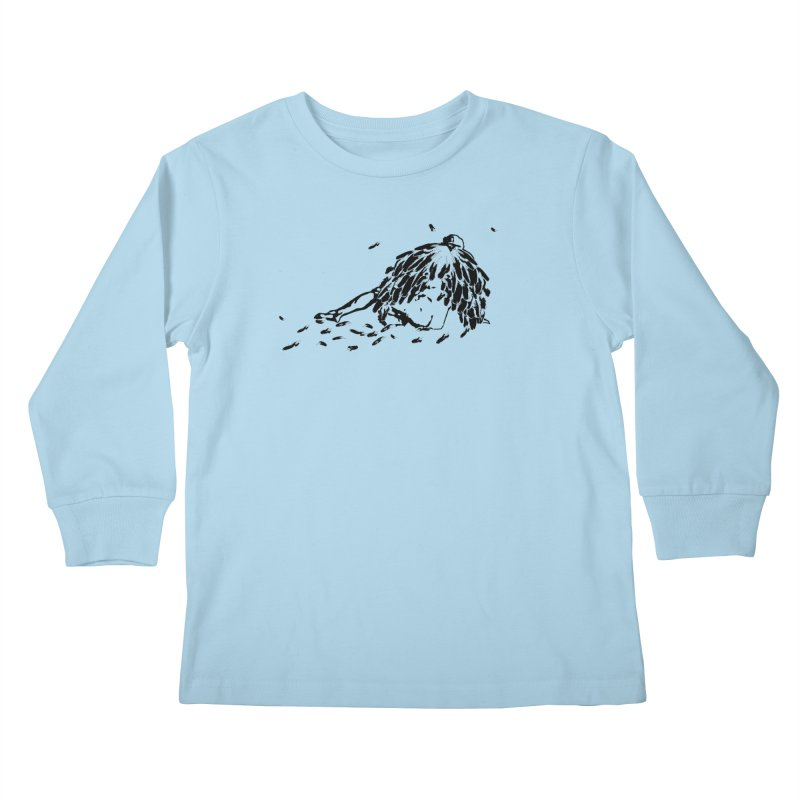 After the Fall Kids Longsleeve T-Shirt by Green Grackle Studio