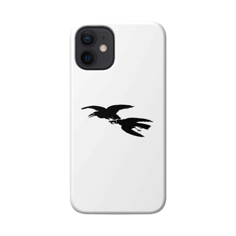 Flying Crows Accessories Phone Case by Green Grackle Studio