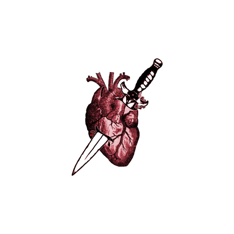 A Dagger to the Heart by Green Grackle Studio