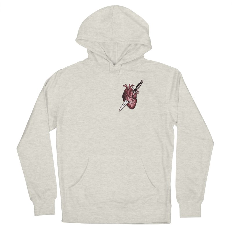 A Dagger to the Heart Men's Pullover Hoody by Green Grackle Studio