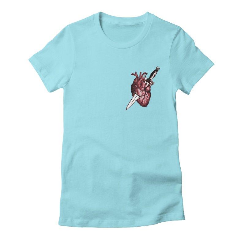 A Dagger to the Heart Women's T-Shirt by Green Grackle Studio