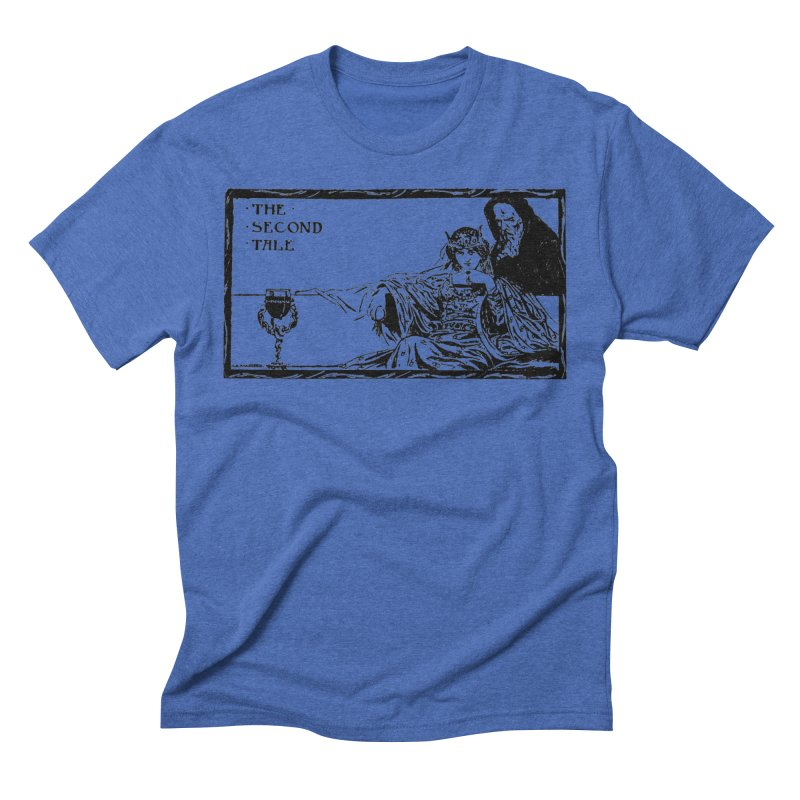 The Second Tale Men's T-Shirt by Green Grackle Studio
