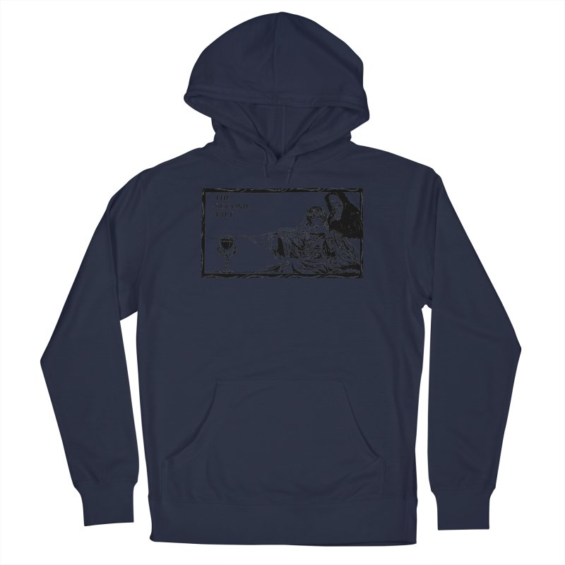 The Second Tale Men's Pullover Hoody by Green Grackle Studio