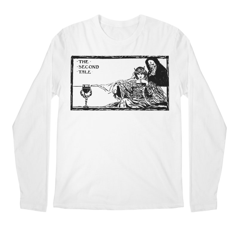 The Second Tale Men's Longsleeve T-Shirt by Green Grackle Studio