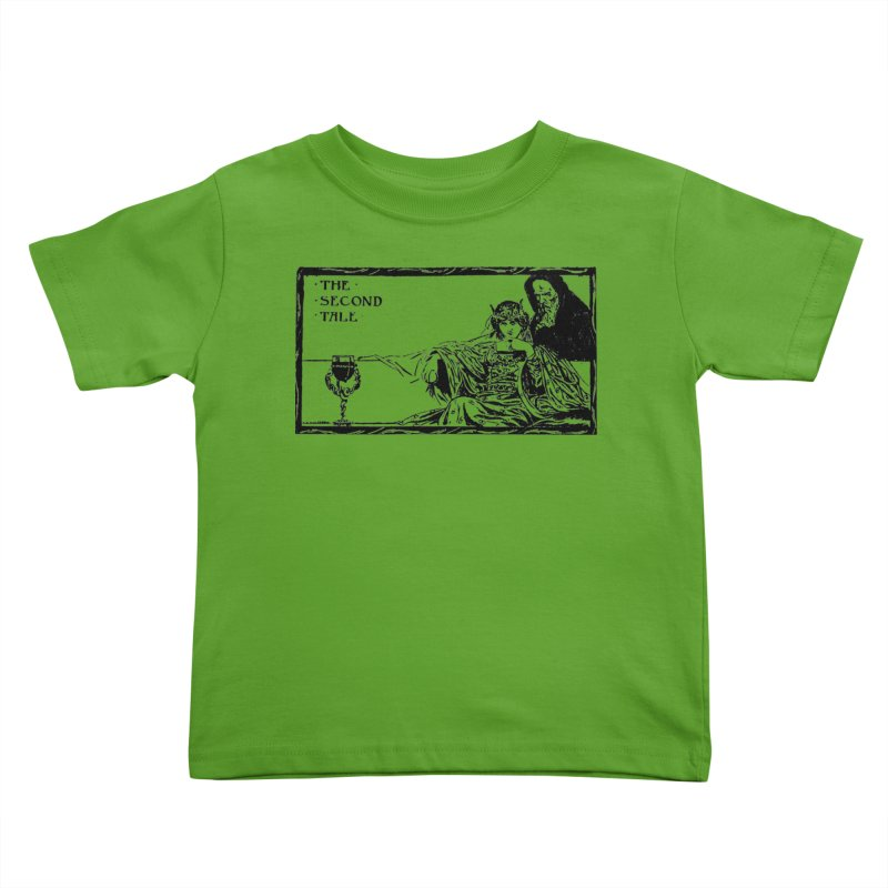 The Second Tale Kids Toddler T-Shirt by Green Grackle Studio