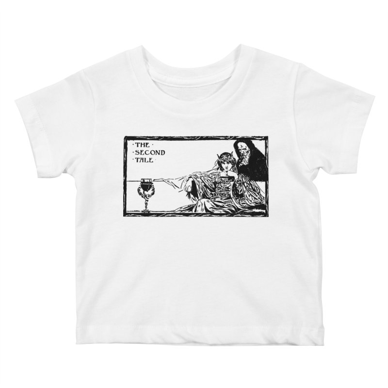 The Second Tale Kids Baby T-Shirt by Green Grackle Studio