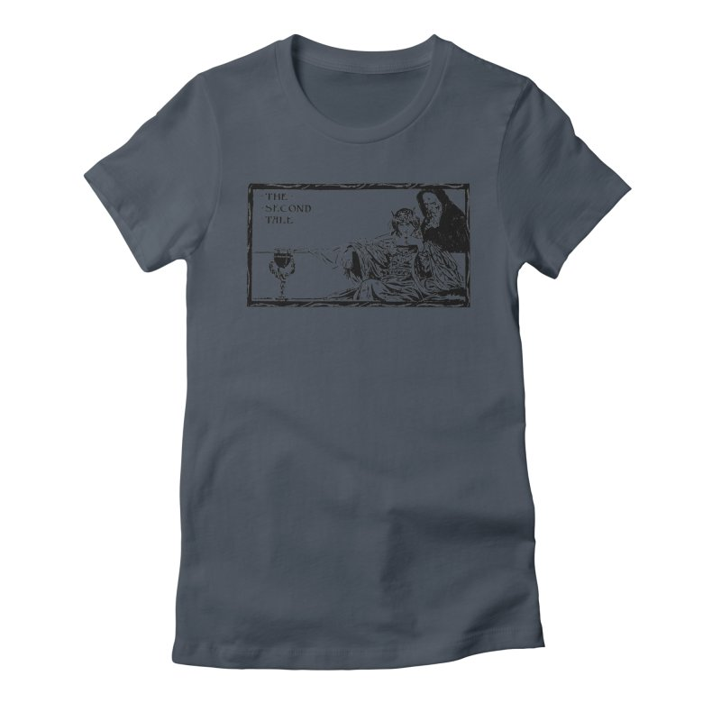 The Second Tale Women's T-Shirt by Green Grackle Studio