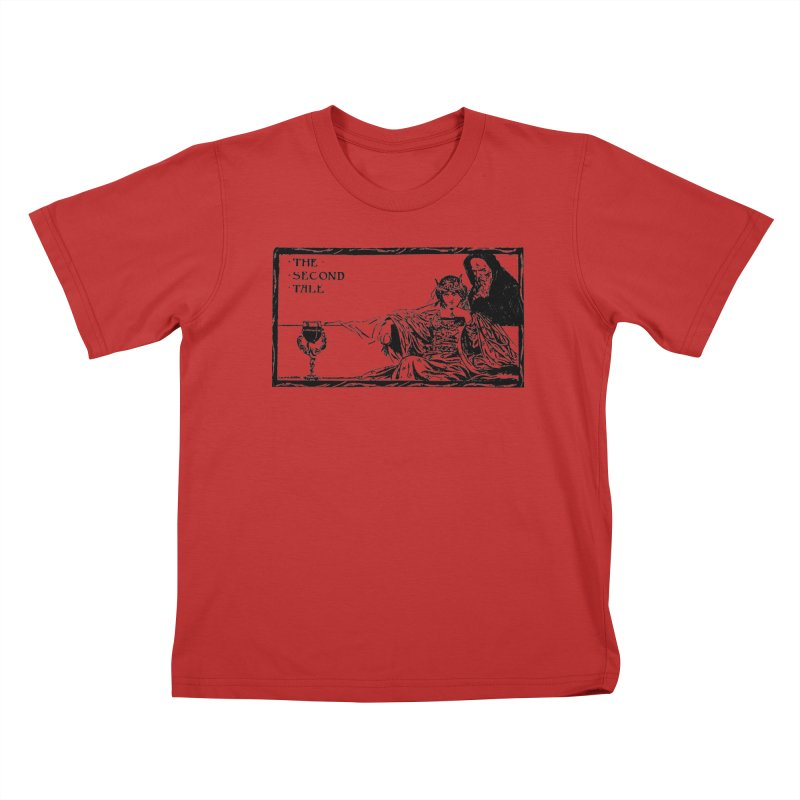 The Second Tale Kids T-Shirt by Green Grackle Studio