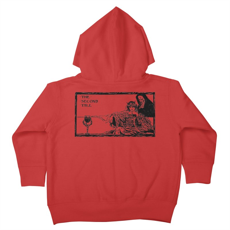 The Second Tale Kids Toddler Zip-Up Hoody by Green Grackle Studio