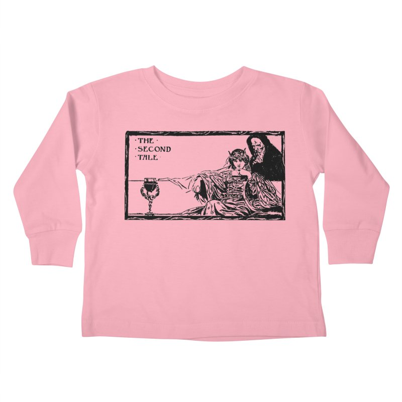 The Second Tale Kids Toddler Longsleeve T-Shirt by Green Grackle Studio