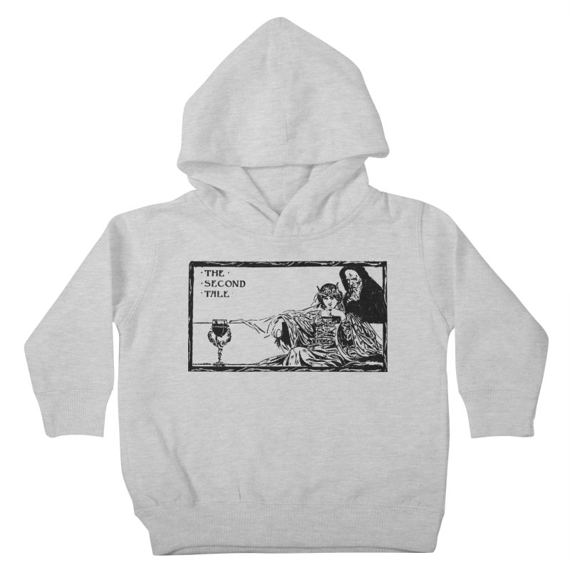 The Second Tale Kids Toddler Pullover Hoody by Green Grackle Studio
