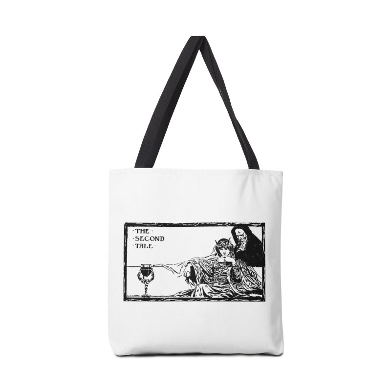 The Second Tale Accessories Tote Bag Bag by Green Grackle Studio