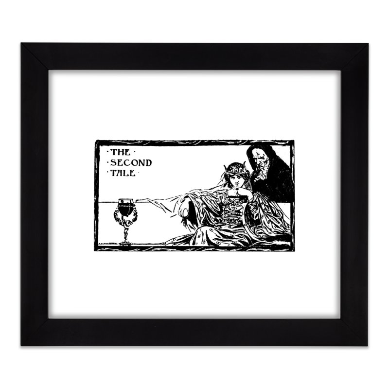 The Second Tale Home Framed Fine Art Print by Green Grackle Studio