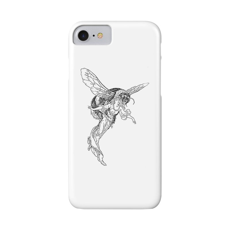 The Princess Carried Off By Bees Accessories Phone Case by Green Grackle Studio