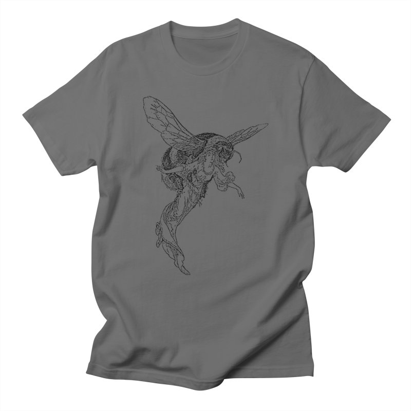 The Princess Carried Off By Bees Men's T-Shirt by Green Grackle Studio