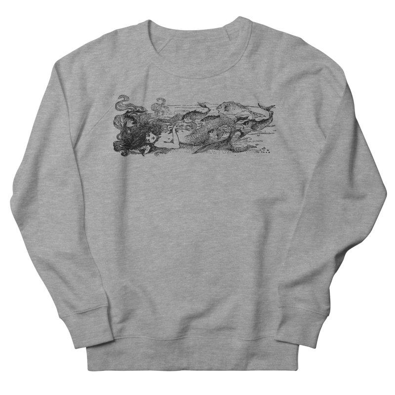 The Little Mermaid Women's French Terry Sweatshirt by Green Grackle Studio