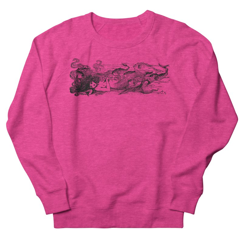 The Little Mermaid Women's Sweatshirt by Green Grackle Studio