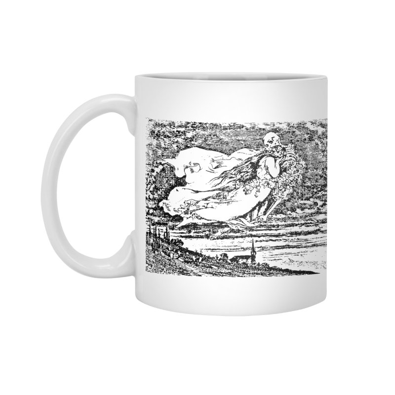Death and the Maiden Accessories Standard Mug by Green Grackle Studio