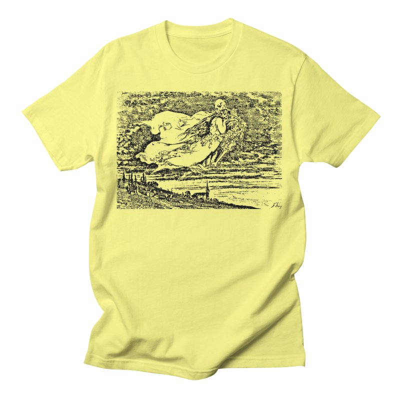 Death and the Maiden Men's T-Shirt by Green Grackle Studio