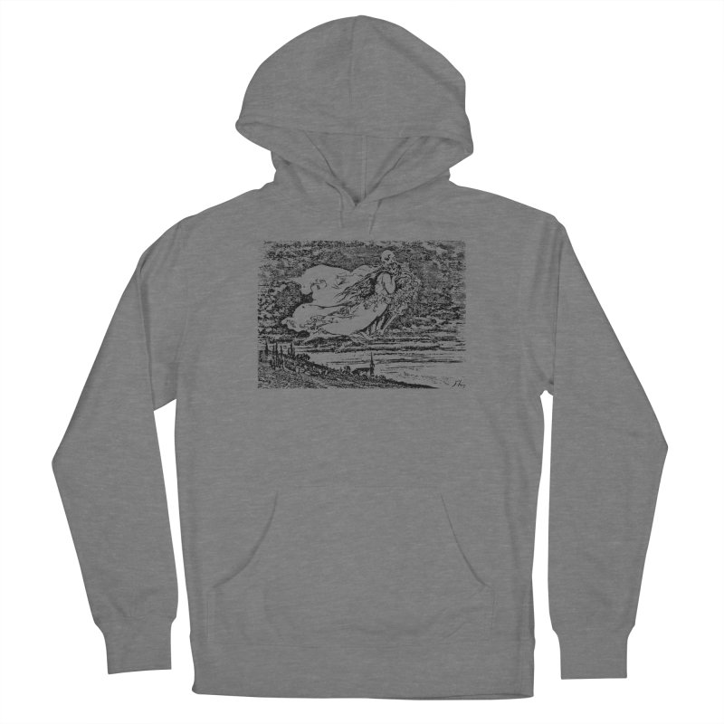 Death and the Maiden Women's Pullover Hoody by Green Grackle Studio
