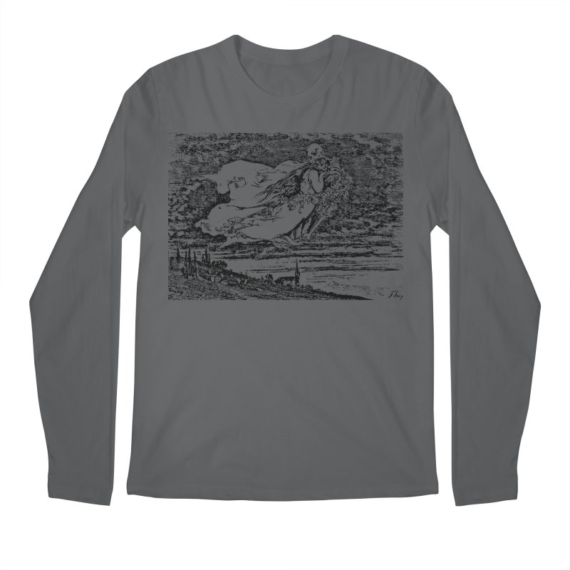 Death and the Maiden Men's Longsleeve T-Shirt by Green Grackle Studio