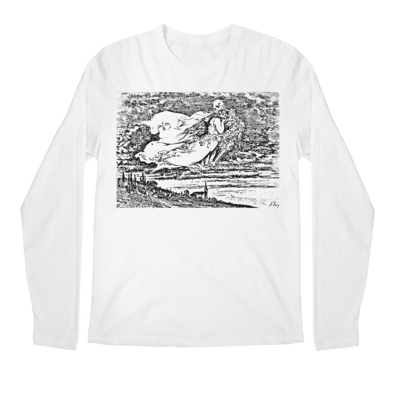 Death and the Maiden Men's Regular Longsleeve T-Shirt by Green Grackle Studio