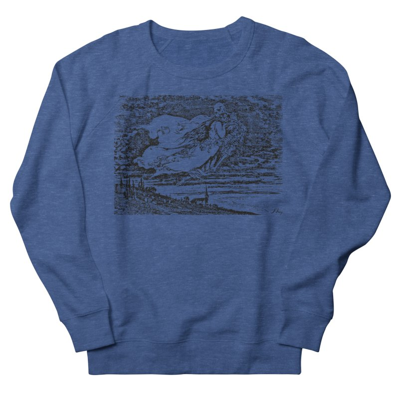 Death and the Maiden Men's Sweatshirt by Green Grackle Studio