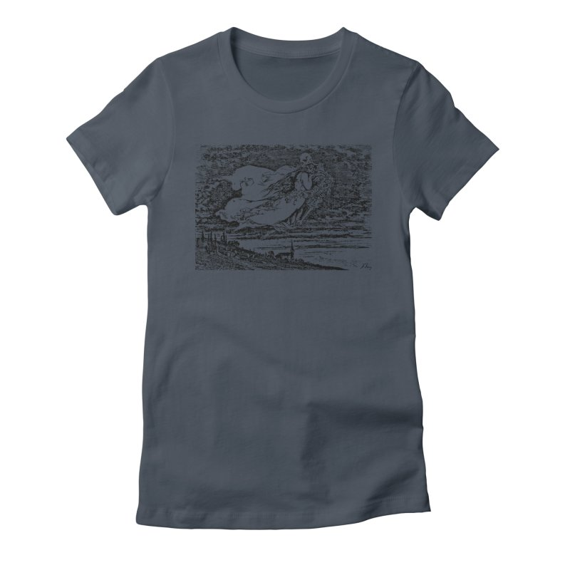 Death and the Maiden Women's T-Shirt by Green Grackle Studio