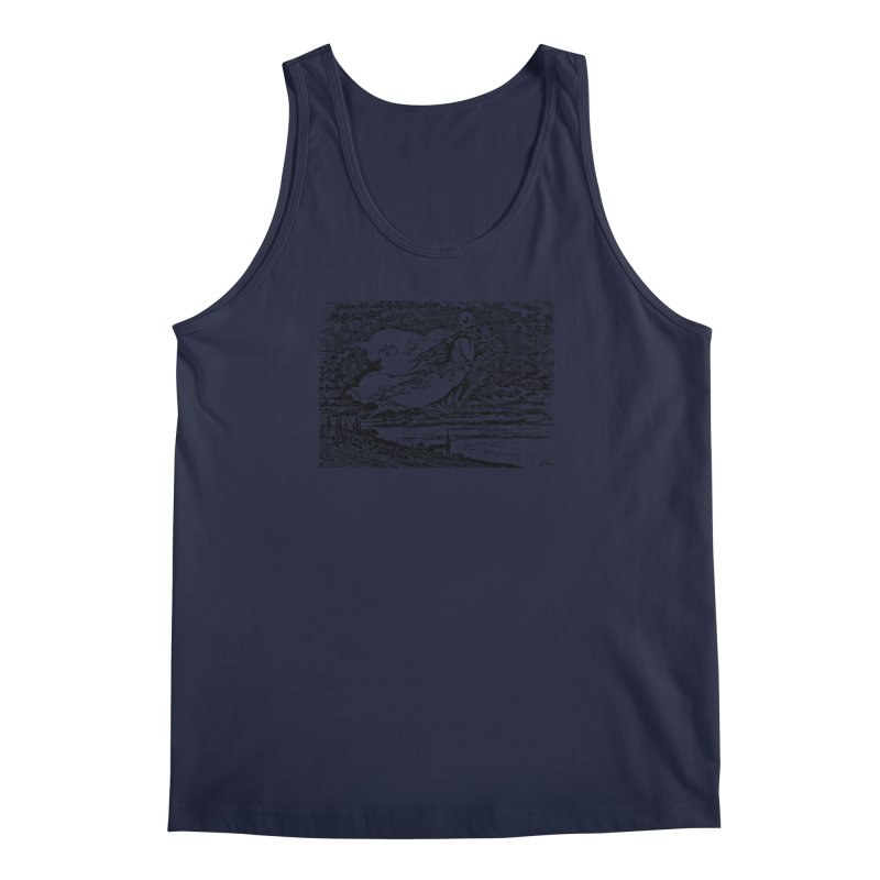Death and the Maiden Men's Regular Tank by Green Grackle Studio